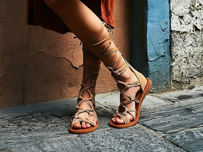 Black Lace up Sandals Mango The Lace-up Sandal is The